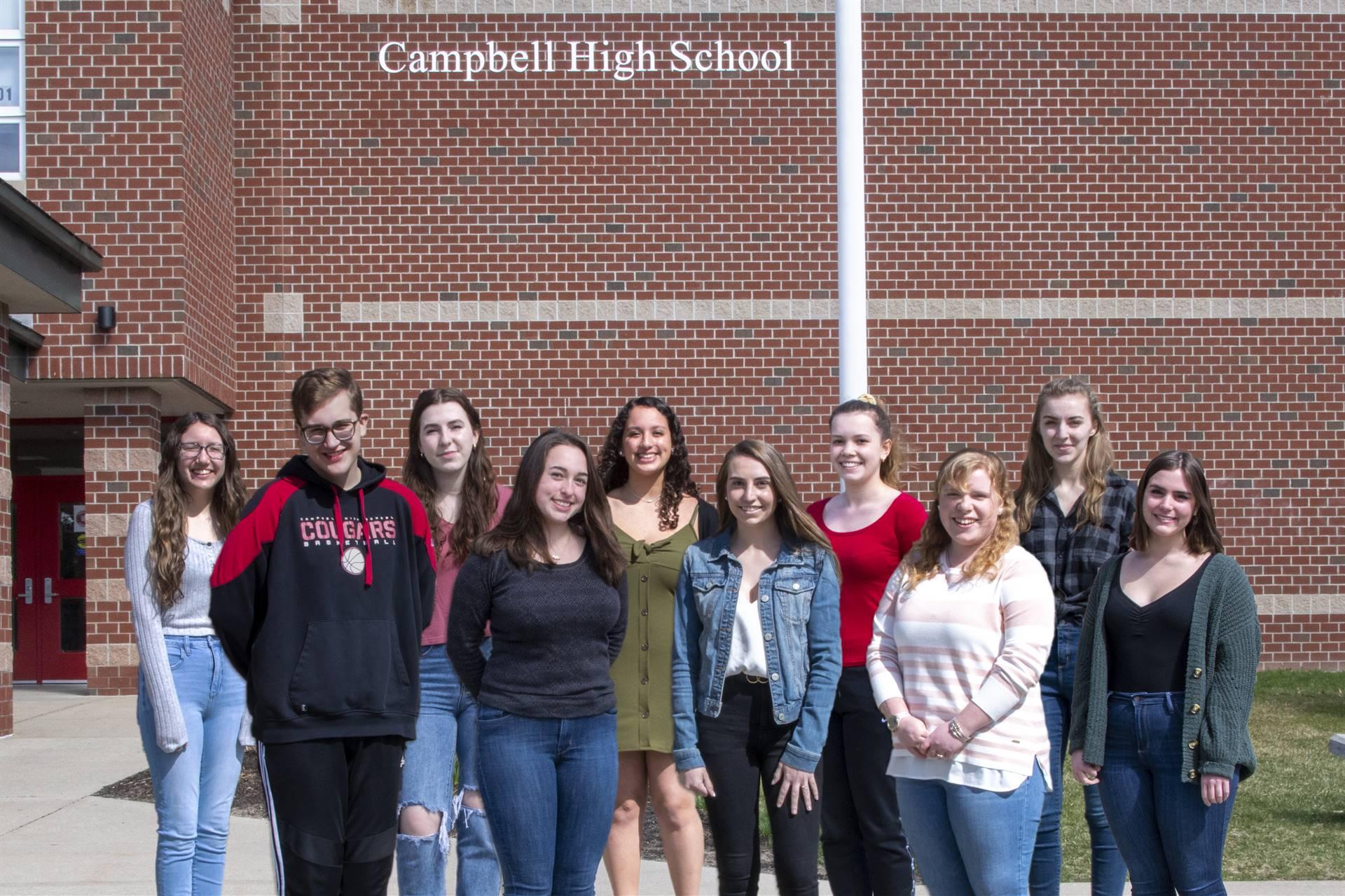 Campbell Top Ten 2020-2021