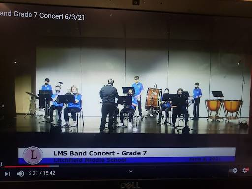 Excellent job to all students who performed in the concerts last week!