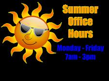 summer hours sun