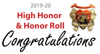 Honor Roll congratulation